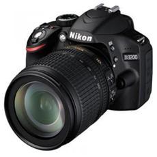 NIKON - D3200 Nero Kit 18-105 VR Sensore CMOS Risoluzione...