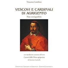 Vescovi e cardinali di Agrigento. Note storiografiche