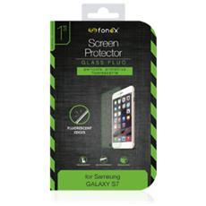 Protezione Schermo in Vetro Temperato con Bordi Fluorescenti per Galaxy S7 (1Pz)