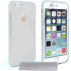 Cover Custodia Sline Silicone Tpu - Trasparente - Apple Iphone 6 E 6s