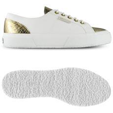 Scarpe Donna 2750 Cotleanimal Bianco Oro 36