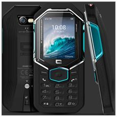 "SHARK X3 Display 2.4"" Dual Sim Resistente IP68 Bluetooth con Tasti Grandi Fotocamera 3G Colore Nero - Europa"
