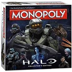 Monopoly Halo Board Game Versione In Inglese English Version