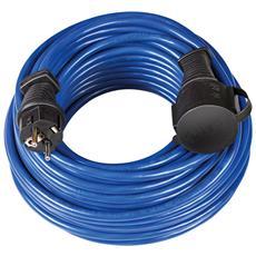 Super Solid Prolunga 25 M Blu At-n05v3v3-f 3g1,5