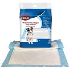 Nappy Tappetino Educativo Per Cuccioli (confezione Da 7) (30 × 50 Cm) (bianco)