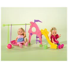 Playground, Ragazza, Multicolore, Set da gioco per bambole, Femmina, Scatola