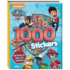 Paw Patrol - 1000 Stickers
