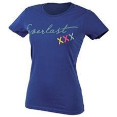 T-shirt Mm Donna Blu Xs