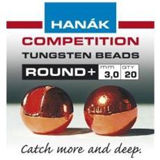 Testine Tungsten Bead Round 4 Marrone