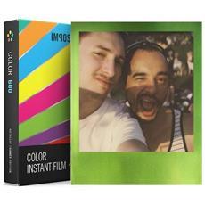 8 Pellicola Istantanea a Colori per Fotocamere Polaroid 600 Edizione Metallico