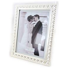 photo frame 'romance' cristallo cromo (13x18 cm) - [ j2535]