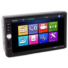 Autoradio 7012B Touch Screen Potenza 4x 60 W Supporto MP5 / MP3 / WMA Bluetooth e USB / AUX con Telecomando