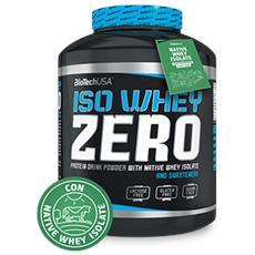Iso Whey Zero [908 G] - Puro Isolato Di Proteine Del Siero Di Qualità Superiore- Senza Glutine Né Lattosio