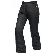 Lohan Pantaloni Impermeabili Da Sci Donna (m) (nero)