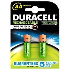 Batteria Ricaricabile AA 2500 Mah
