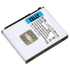batt. litio 600 mah per sony-eric. t230
