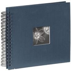 Fine Art spirale blu 28x24 50 pagine nere 90147