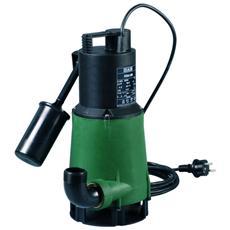 Feka 600 M-a - Pompa Sommergibile Con Galleggiante Per Drenaggio Acque Reflue Ad Uso Domestico 0,55 Kw / 0,75 Hp Monofase