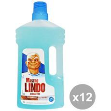 Set 12 Pavimenti Superfici Delicate 1 Lt. Detergent