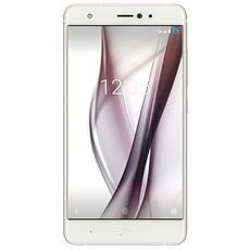 "Aquaris X5 Bianco / Rosa 32 GB 4G / LTE Display 5"" HD Slot Micro SD Fotocamera 13 Mpx Android Europa"