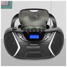 Radio Stereo Mp3 Usb Cd Cassette Audiosonic Cd1596