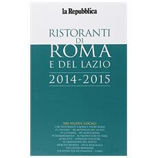 Guida ristoranti di Roma e del Lazio 2014