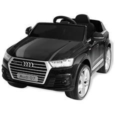 Automobile Elettrica Cavalcabile Audi Q7 Nera 6 V