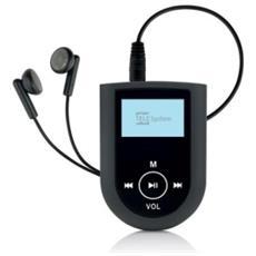 Lettore MP3 Snaprun 8GB Colore Nero