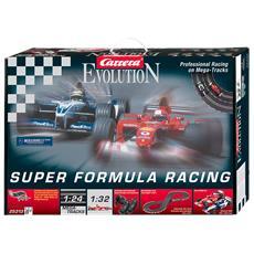 Evolution - Formula Racing - Professional Racing On Megatrack - Williams F1 Bmw Fw25 Scala 1:32 - Ferrari 2002 W10 Scala 1:32