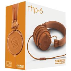 """RHP-6, Stereofonico, 3.5 mm (1/8"""") , Omni, Padiglione auricolare, Arancione, Cablato"""