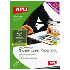 conf. 100 Carta digitale laserlaser A4 11833 T900008