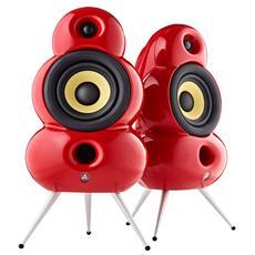 SmallPod Bluetooth MK2 Potenza Totale 80Watt colore Rosso