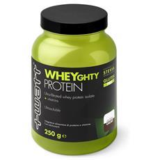 Wheyghty protein 80 250 g nocciola