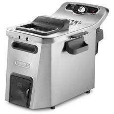 Friggitrice 0125537711-EU Capacità 5 Litri 3200 Watt Colore Silver