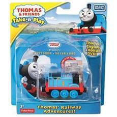 DNF10 - Il Trenino Thomas - Dvd Con Veicolo
