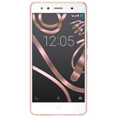 """Aquaris X5 Oro / Rosa 16 GB 4G / LTE Dual Sim Display 5"""" HD Slot Micro SD Fotocamera 13 Mpx Android Europa"""