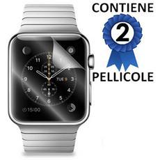 Pellicola Proteggi Display Per Apple Watch 42mm Confezione 2 Pezzi