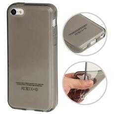 Custodia Tpu Per Iphone 5c Grigio Trasparente