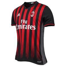 Maglia Milan Home 16/17 Rosso Nero Xs