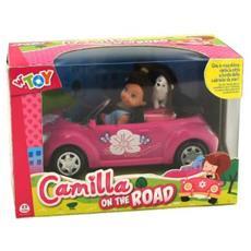 Auto C / bambola Camilla E Cagnolino Cf1
