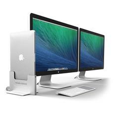 HD04VA13MBPR, Docking, USB 3.0 (3.1 Gen 1) Type-A + Mini DisplayPort 1.2, Metallico, Argento