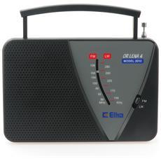 LENA 4, 3,5 mm, Portatile, Analogico, FM, LW, 87,5 - 108 MHz, 148,5 - 283,5 kHz