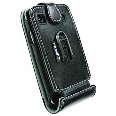 Flip Cover Custodia per Galaxy S Plus / Samsung Galaxy S i9000 Touch Colore Nero