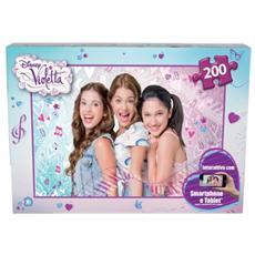 Puzzle Disney Violetta 200 pz 51003