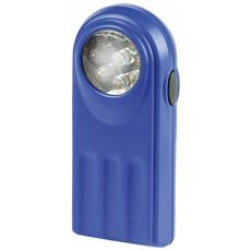 Torcia Mini a Batteria in Abs Blu 9 luci Led Maurer (Batterie 3xAAA Non Incluse)