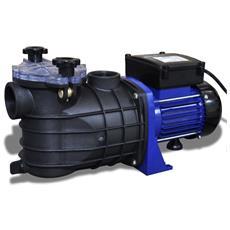 Pompa Di Filtrazione Elettrica Per Piscina 500w Blu