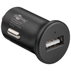 IUSB2-CAR-3AQC - Caricatore da Auto 1p USB Quick Charge 3.0 Nero