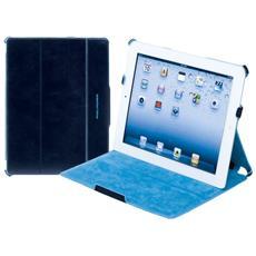 blue square custodia in pelle per ipad®2 e ipad®, blue notte - ac2719b2 / blu2