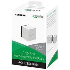 Batteria Ricaricabile per Videocamera Arlo Pro Wireless HD Colore Bianco