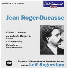 Jean Roger-Ducasse - Patrimoine